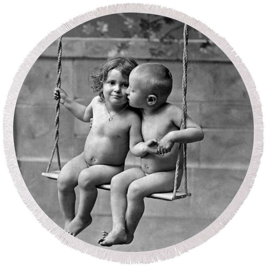 Designs Similar to Young French Lovers On A Swing