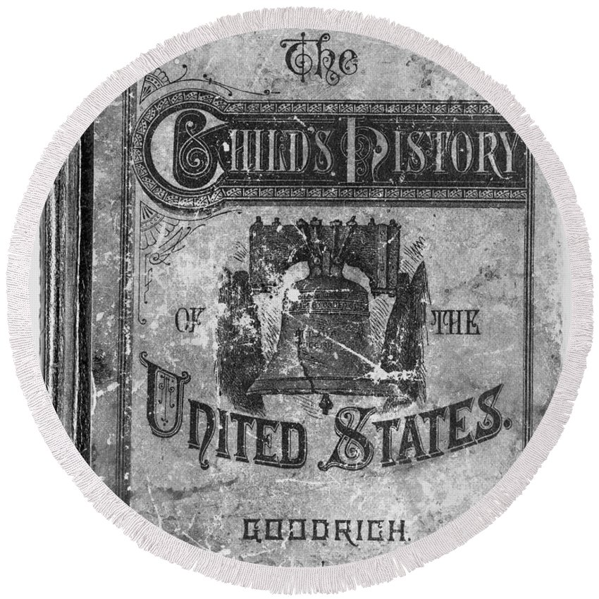 1878 Round Beach Towel featuring the photograph Liberty Bell by Granger