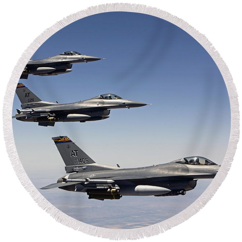 Designs Similar to Three F-16s Fly In Formation