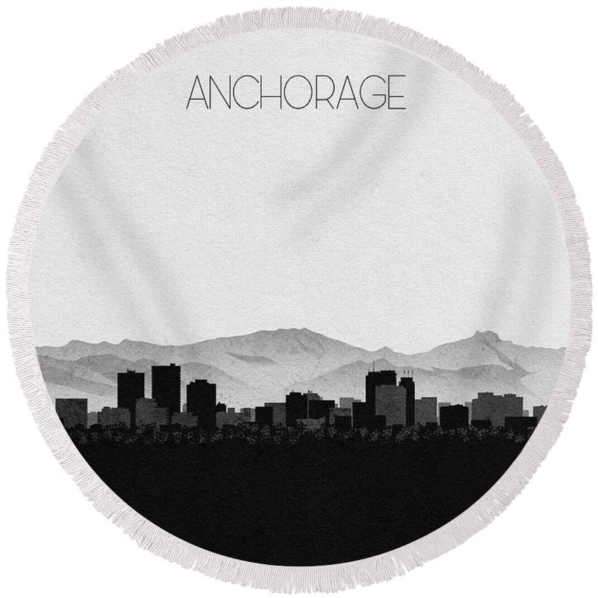 Designs Similar to Anchorage Cityscape Art