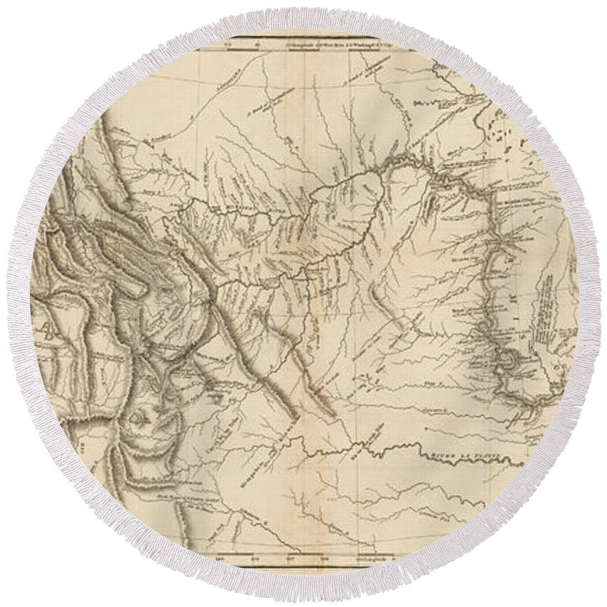 Map Of America Lewis And Clark.Antique Map Lewis And Clark S Track Across North America Round