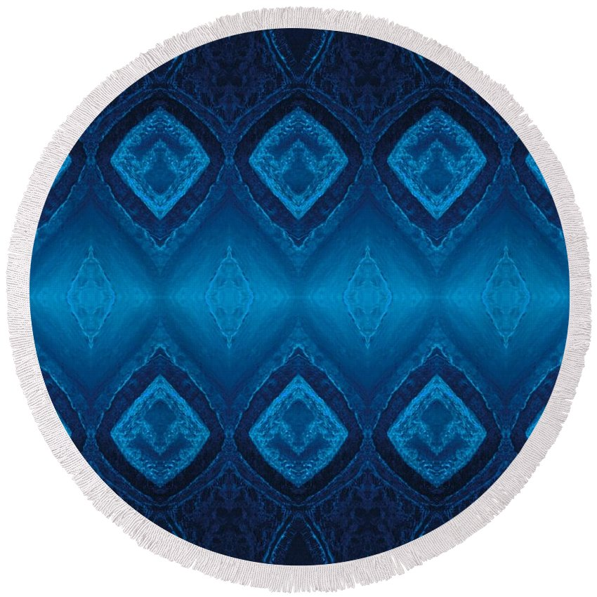 Be Round Beach Towel featuring the digital art Be Direct by Rachel Hannah