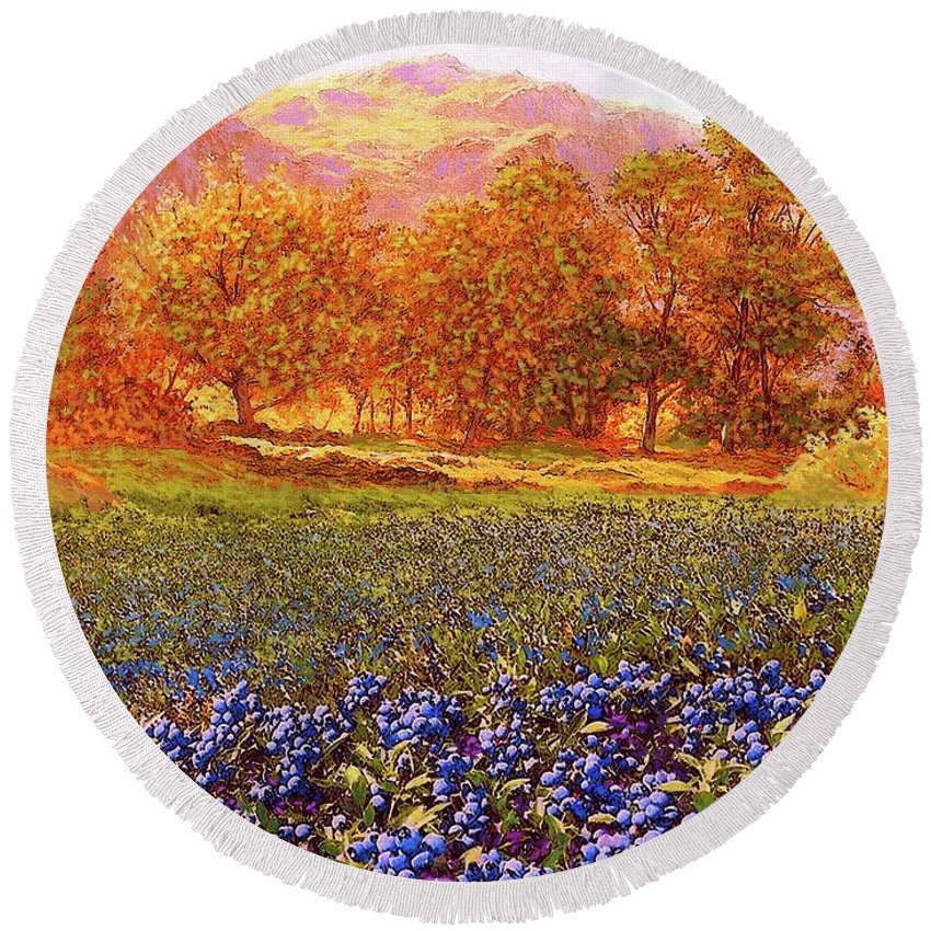Designs Similar to Blueberry Fields by Jane Small