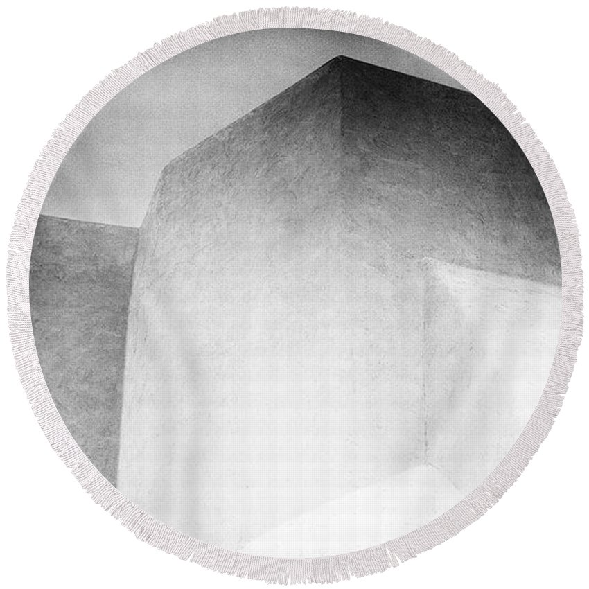 Round Beach Towel featuring the photograph Both Spirits by Timothy Princehorn