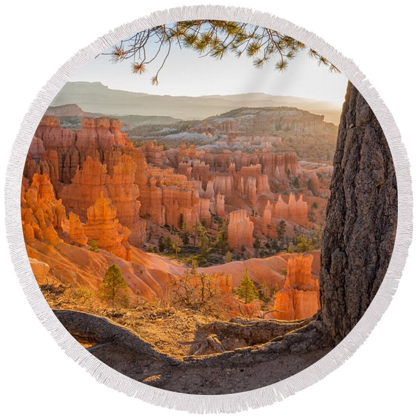 Bryce Canyon National Park Round Beach Towels