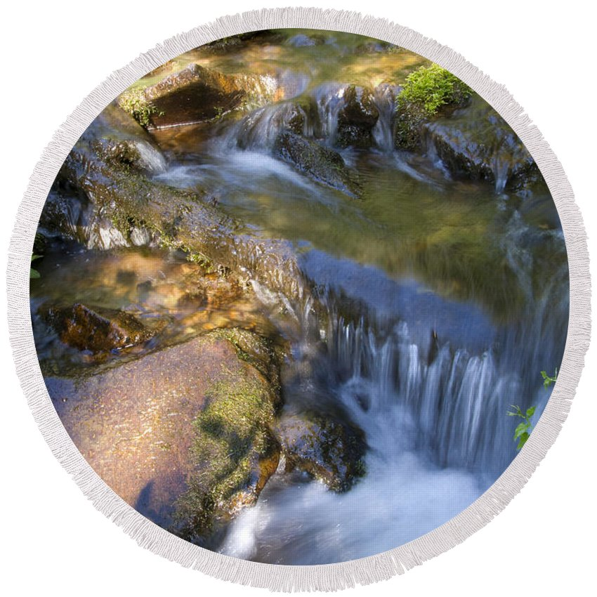 Colorado Round Beach Towel featuring the photograph Colorado Tranquility by Jeffery Ball