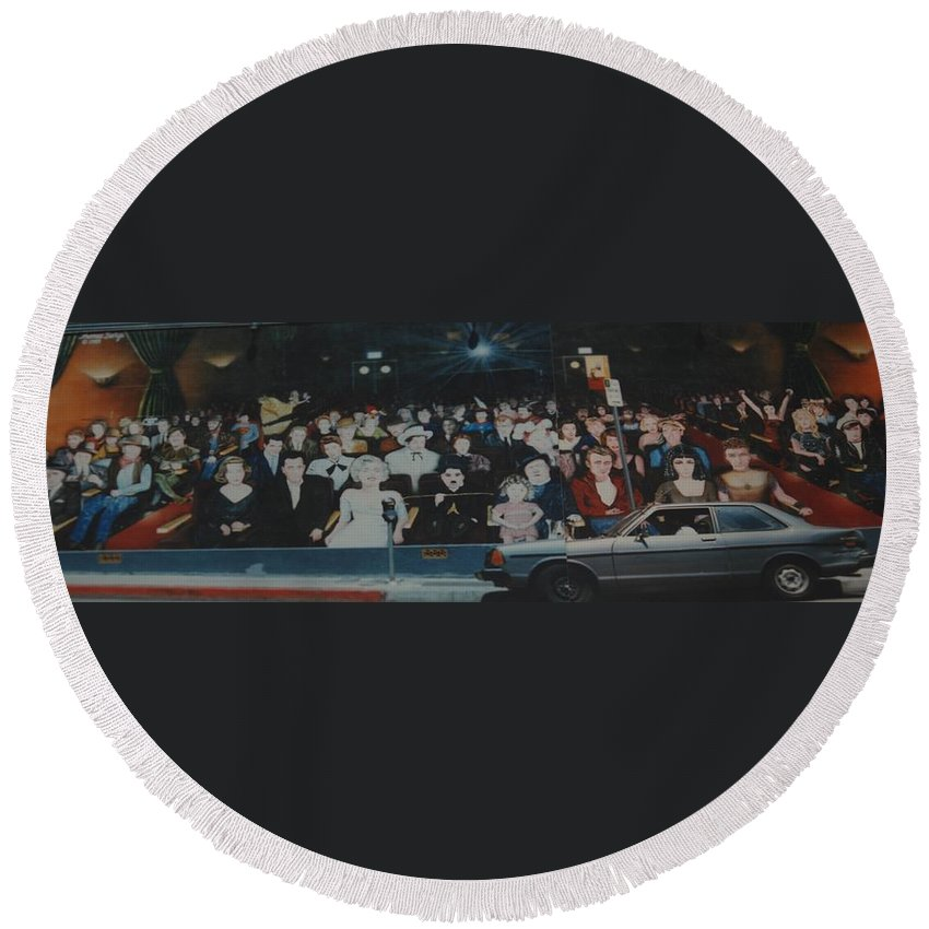Movie Stars Round Beach Towel featuring the photograph Dead Stars by Rob Hans