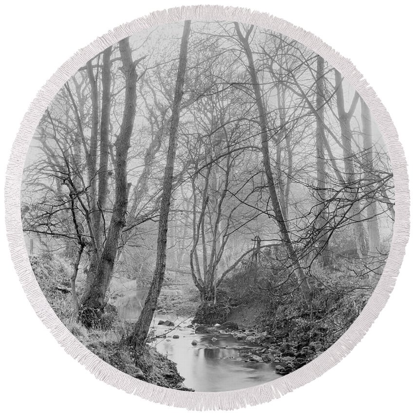 Round Beach Towel featuring the photograph Edwardian by Iain Duncan