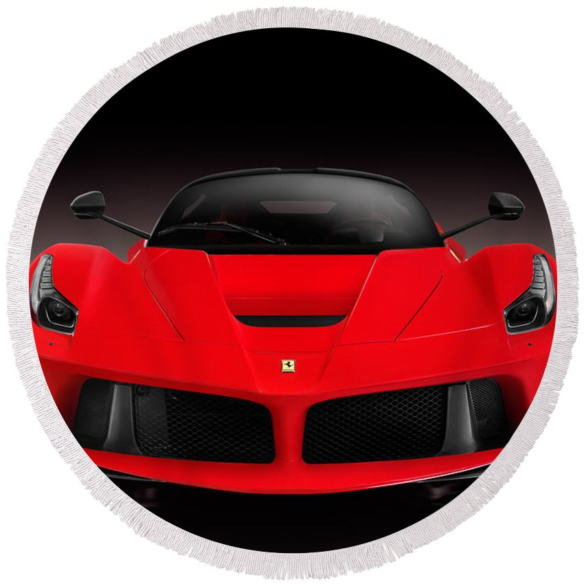 Ferrari Supercar: Ferrari F150 Laferrari Supercar Sports Car Front View On
