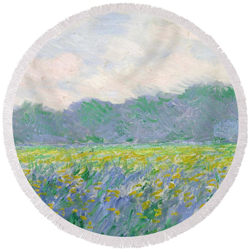 Monet Round Beach Towels