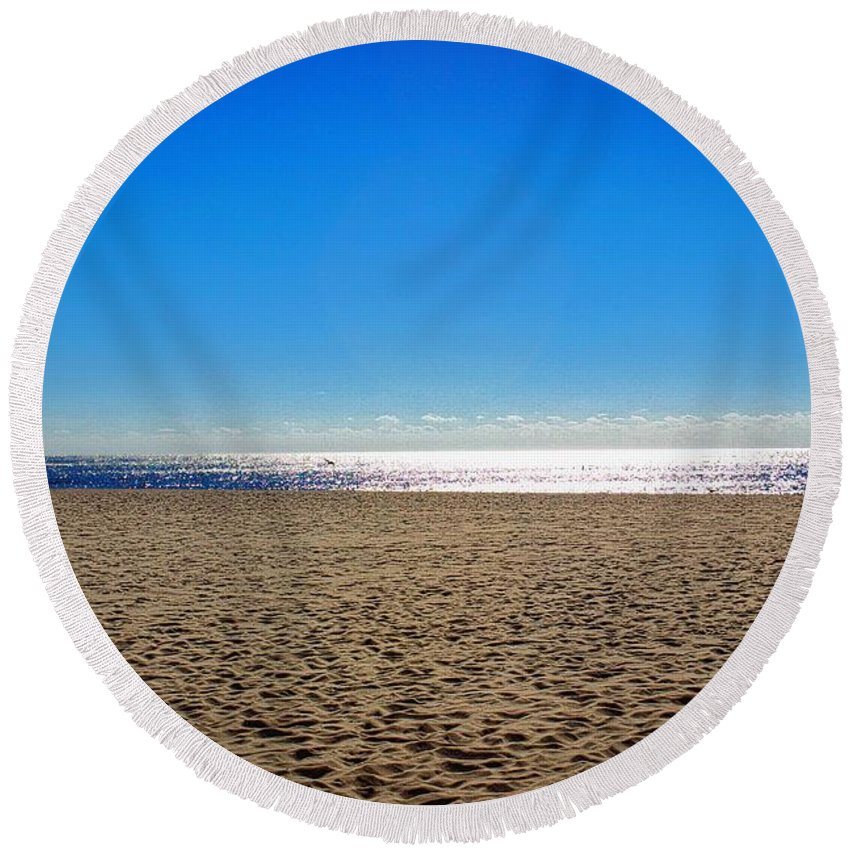 Home Round Beach Towel featuring the photograph Home Sweet Home by Ty Shults