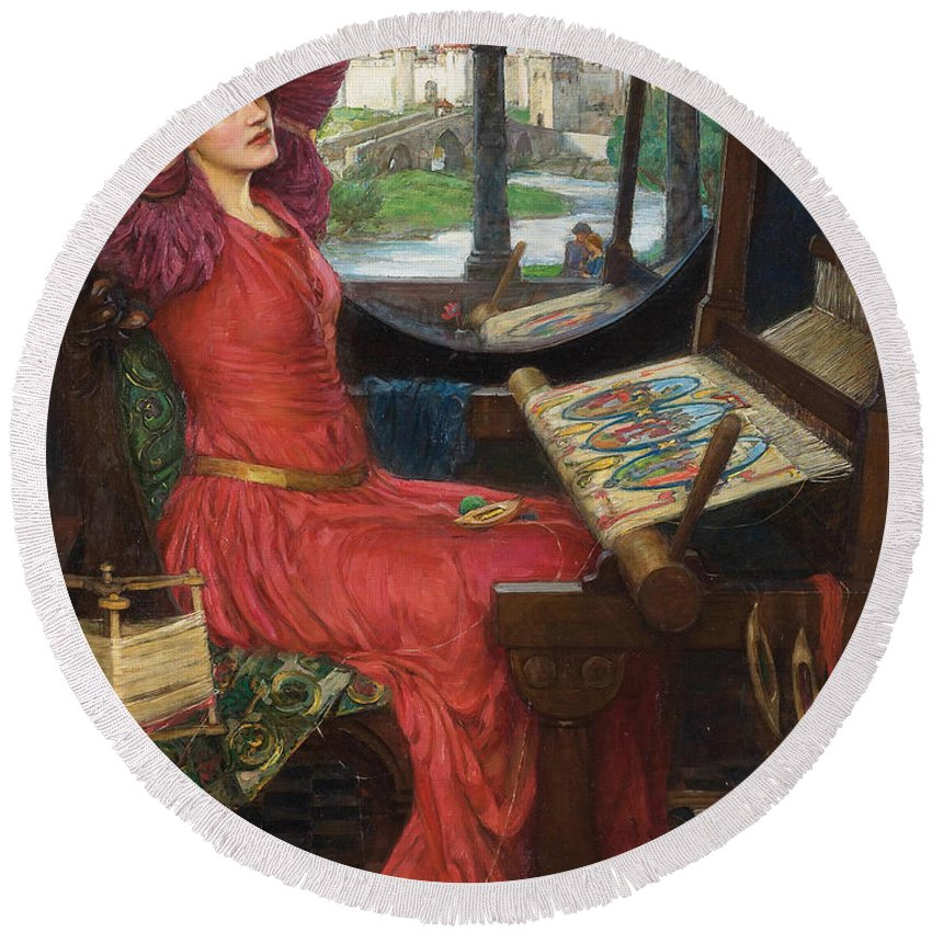 I am half sick of shadows JOHN WILLIAM WATERHOUSE Pre-Raphaelite Poster