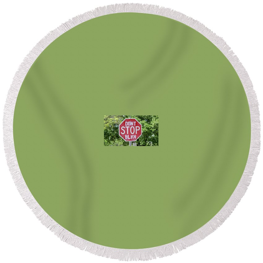 Vallejo Round Beach Towel featuring the photograph It's Possible by Kristofer M Johnson