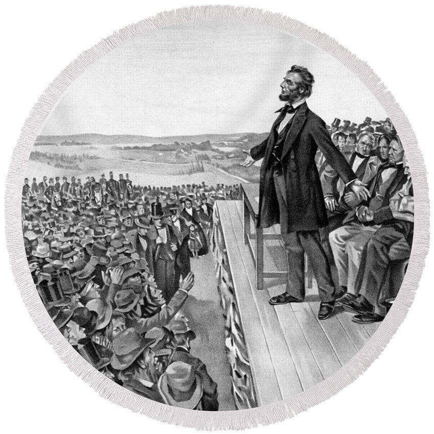 Gettysburg Address Beach Products