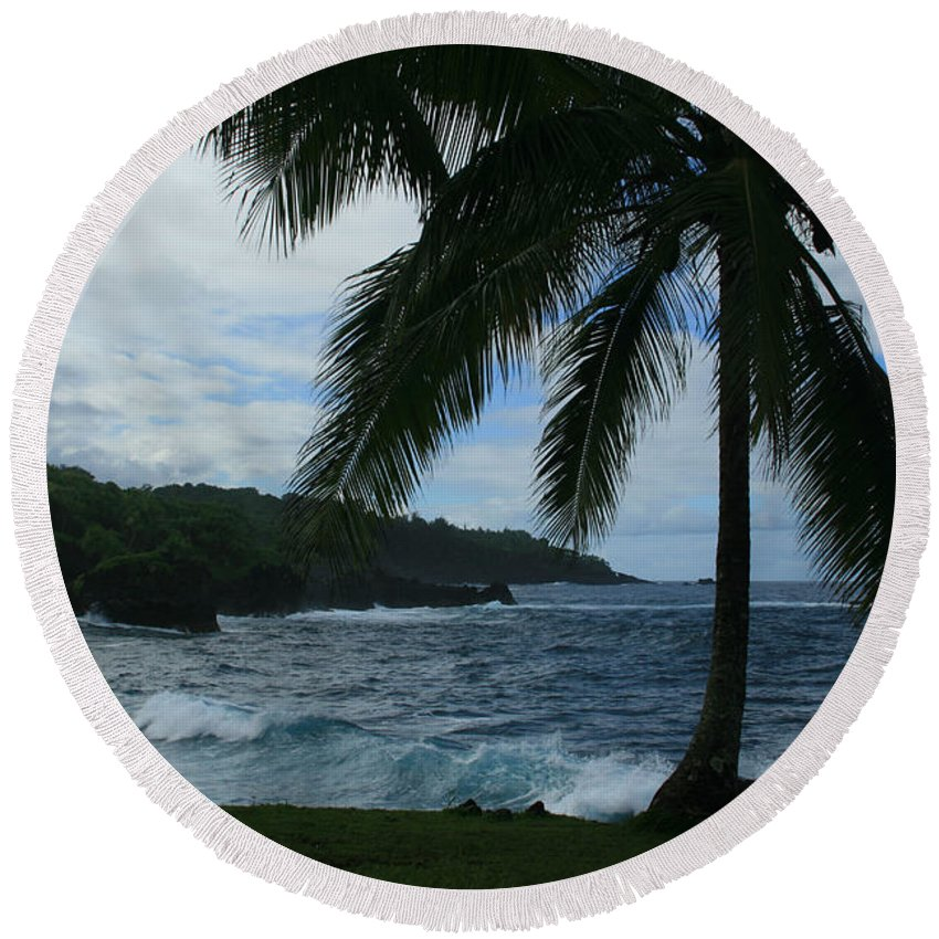 Aloha Round Beach Towel featuring the photograph Love Is Eternal by Sharon Mau
