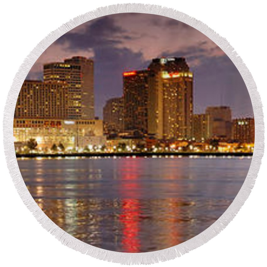 New Orleans Round Beach Towels