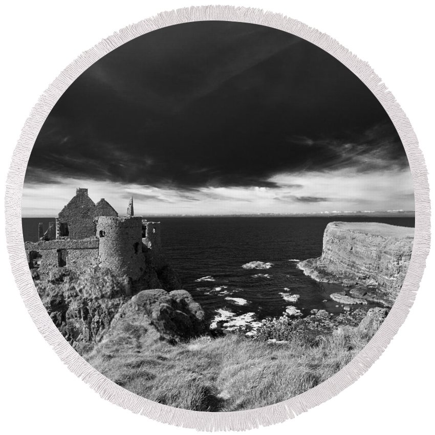 Ireland Round Beach Towel featuring the photograph Northern Ireland 39 by Avril Christophe
