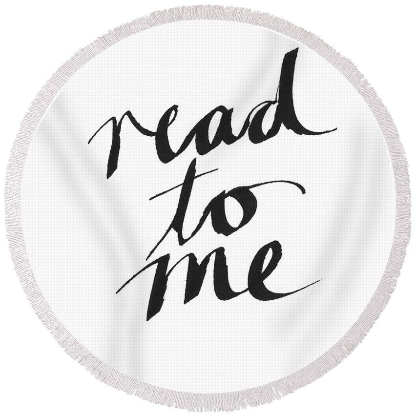 Reading Room Round Beach Towels