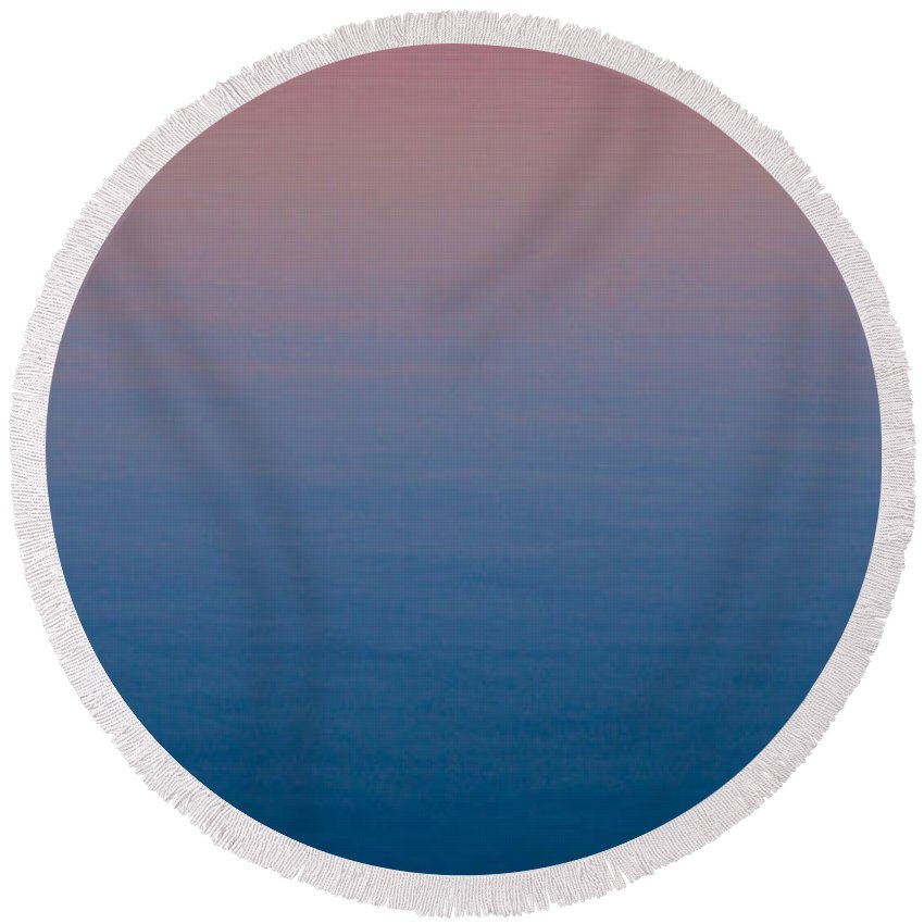 Reverie Round Beach Towel featuring the photograph Reverie by Vincent Winkelman