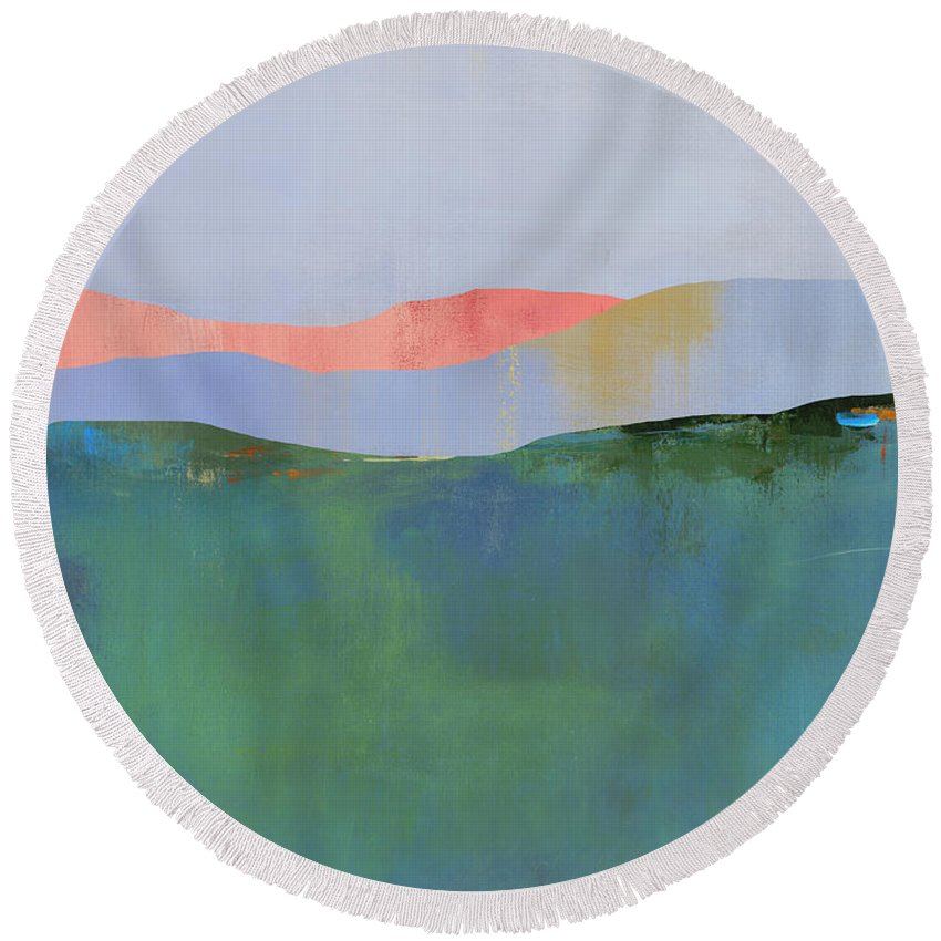 New Media Round Beach Towels