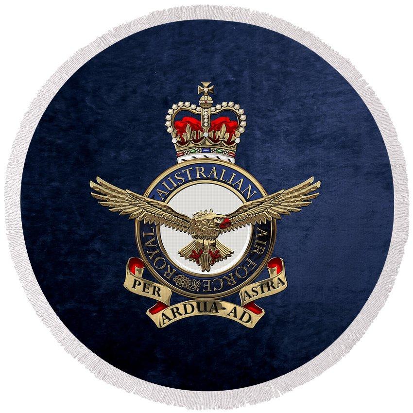 Royal Australian Air Force Round Beach Towels