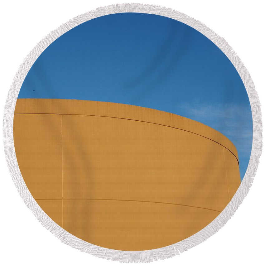 Simple Round Beach Towel featuring the photograph Simple Things by Gary Richards