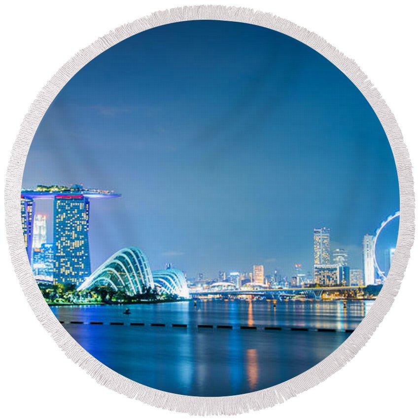 Singapore Skyline Beach Products