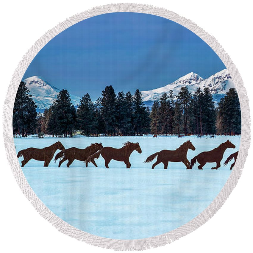 Designs Similar to Sisters Horses And Mountains
