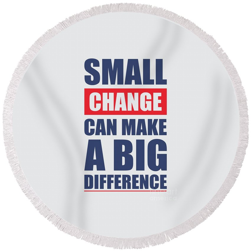 Small Change Can Make A Big Difference Motivational Quotes