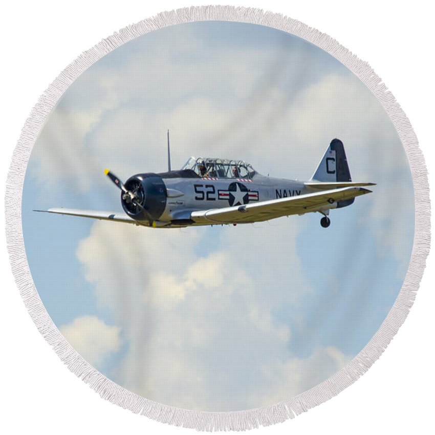 Snj-5 Round Beach Towel featuring the photograph Snj-5 by Brian Jordan