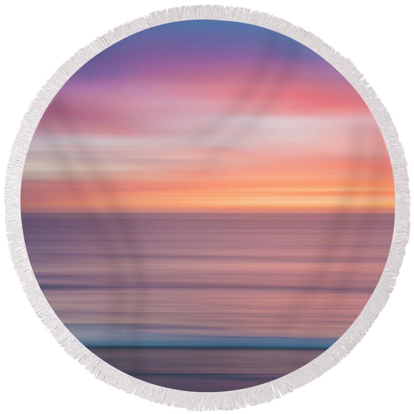 Southern California Round Beach Towels