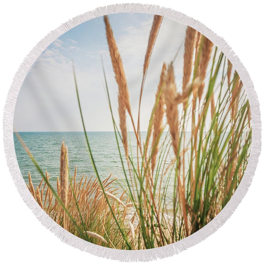 Sylt Round Beach Towel featuring the photograph Sylt by Alexander Voss
