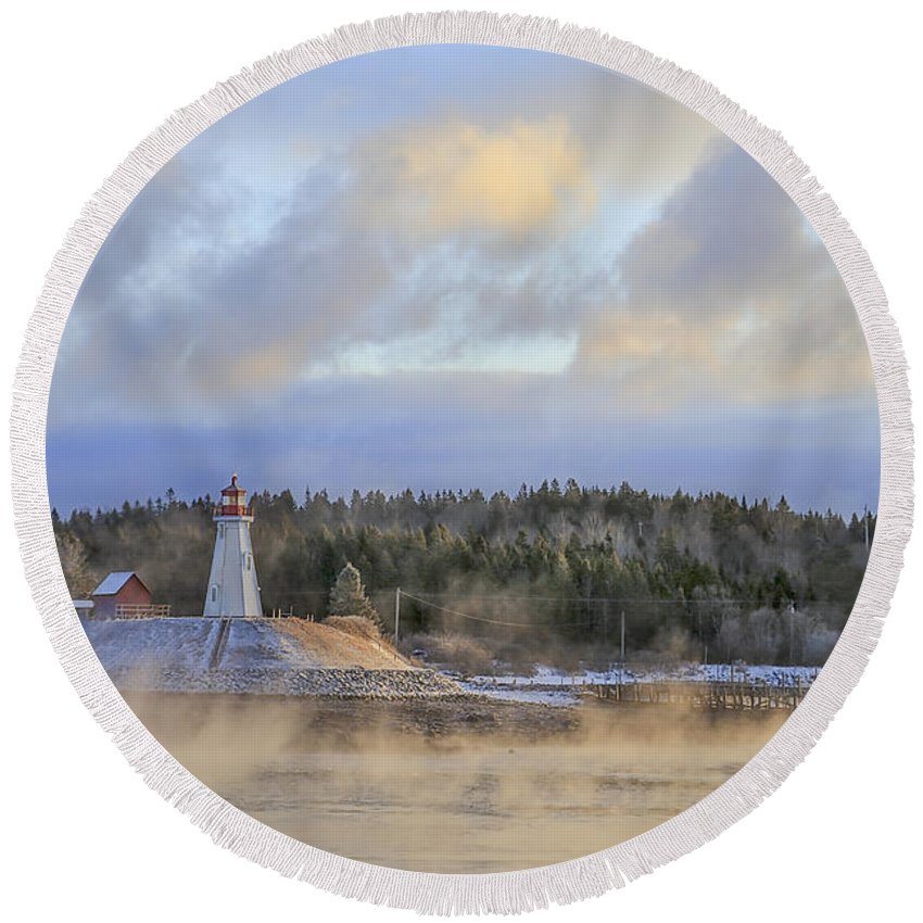 Campobello Round Beach Towels