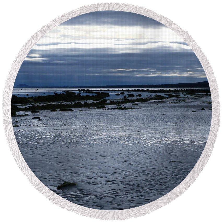 Haida Gwaii Round Beach Towel featuring the photograph Tidal Secrets Haida Gwaii Bc by Barbara St Jean