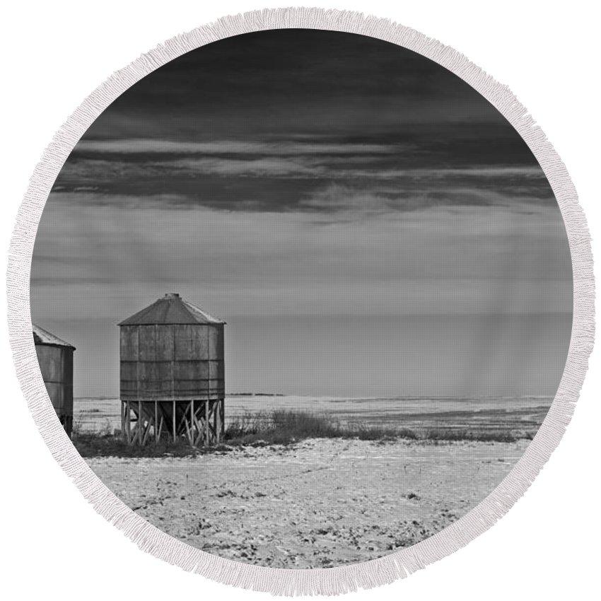 Nina Stavlund Round Beach Towel featuring the photograph Wide Open... by Nina Stavlund