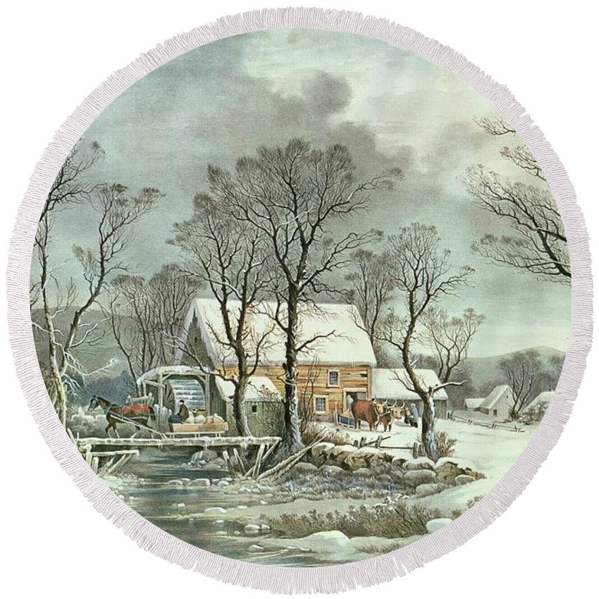 Currier And Ives Beach Products