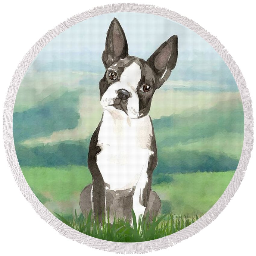 Designs Similar to Boston Terrier by John Edwards