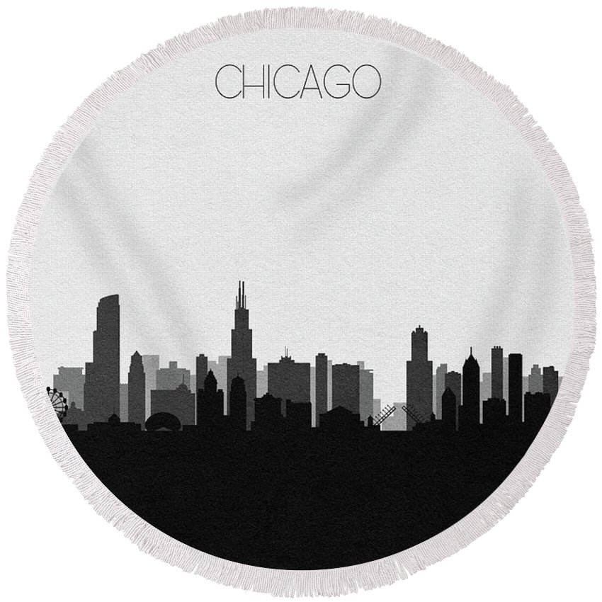 Designs Similar to Chicago Cityscape Art V2