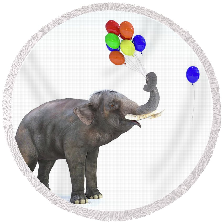 Designs Similar to Elephant With Balloons