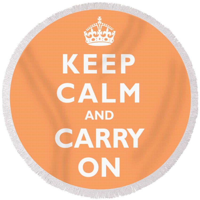 Keep Calm And Carry On Beach Products