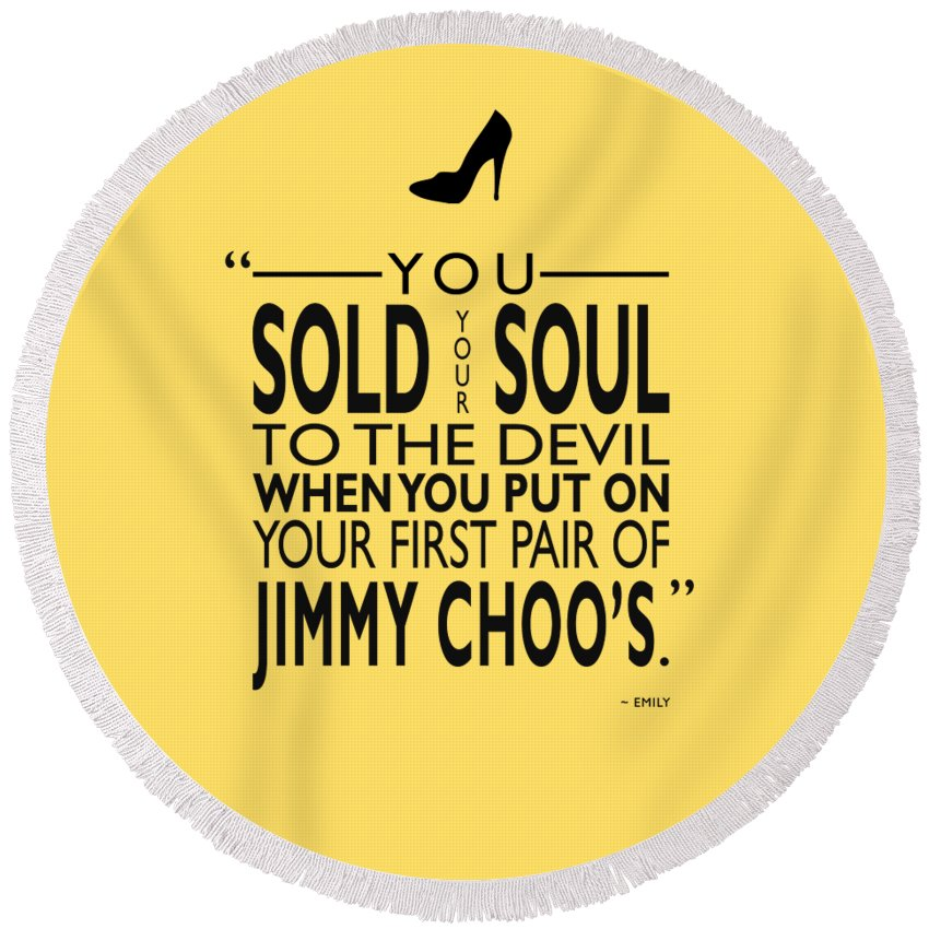 e095c0b04234c9 The Devil Wears Prada Round Beach Towel featuring the photograph Sold Your  Soul To The Devil