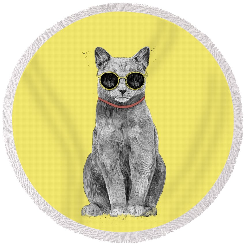 Kittens Cool Round Beach Towels