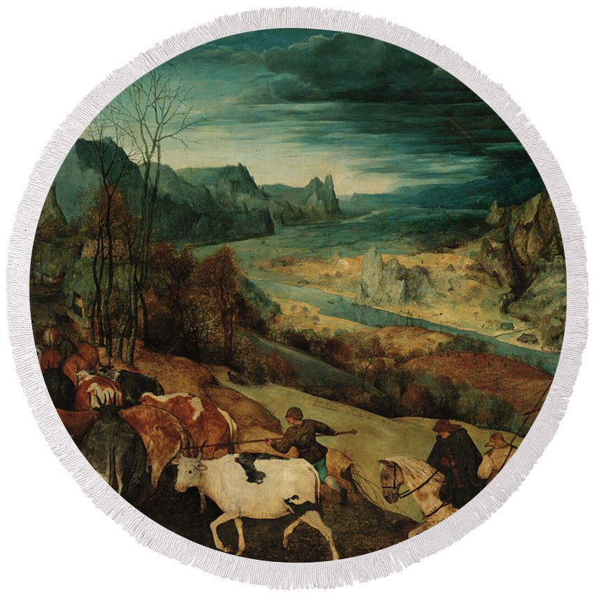Designs Similar to The Return Of The Herd, 1565