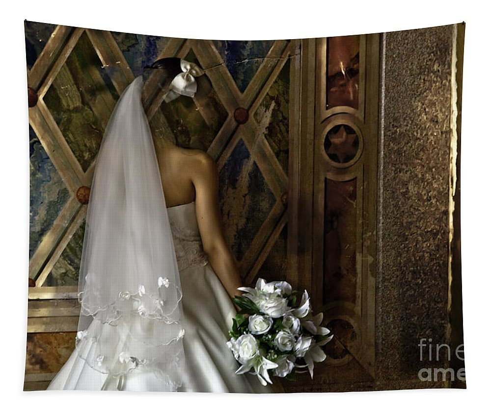 Bride Tapestry featuring the photograph Disappearing by Madeline Ellis