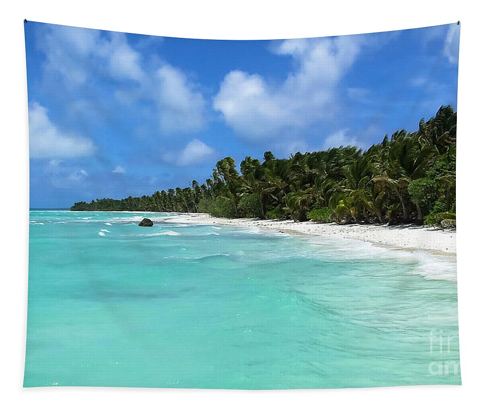 Ocean Tapestry featuring the photograph Arno Atoll by Andrea Anderegg