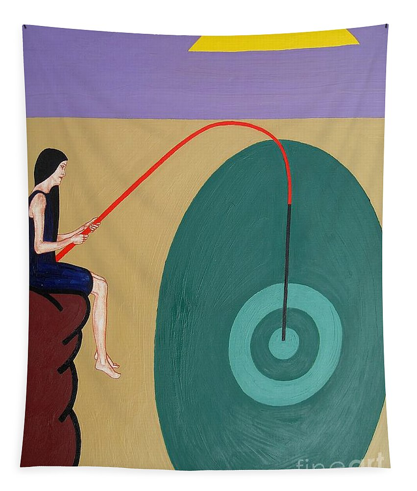 Valentine Tapestry featuring the painting At Last by Patrick J Murphy