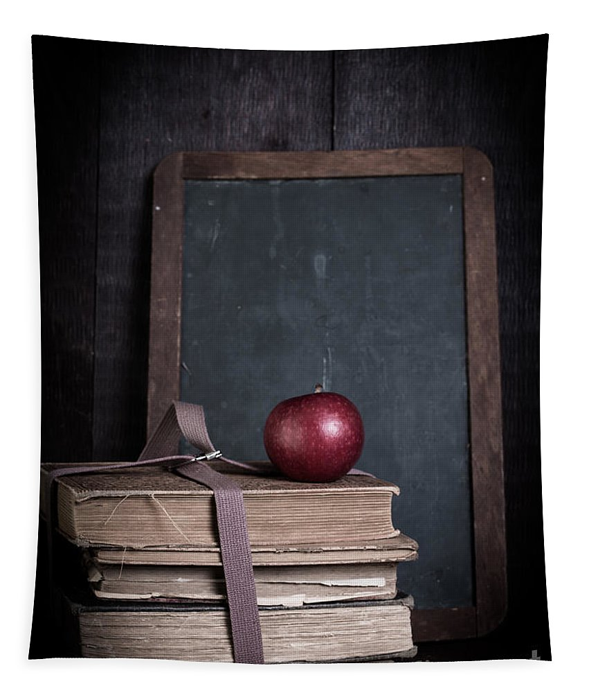 School Tapestry featuring the photograph Back To School by Edward Fielding