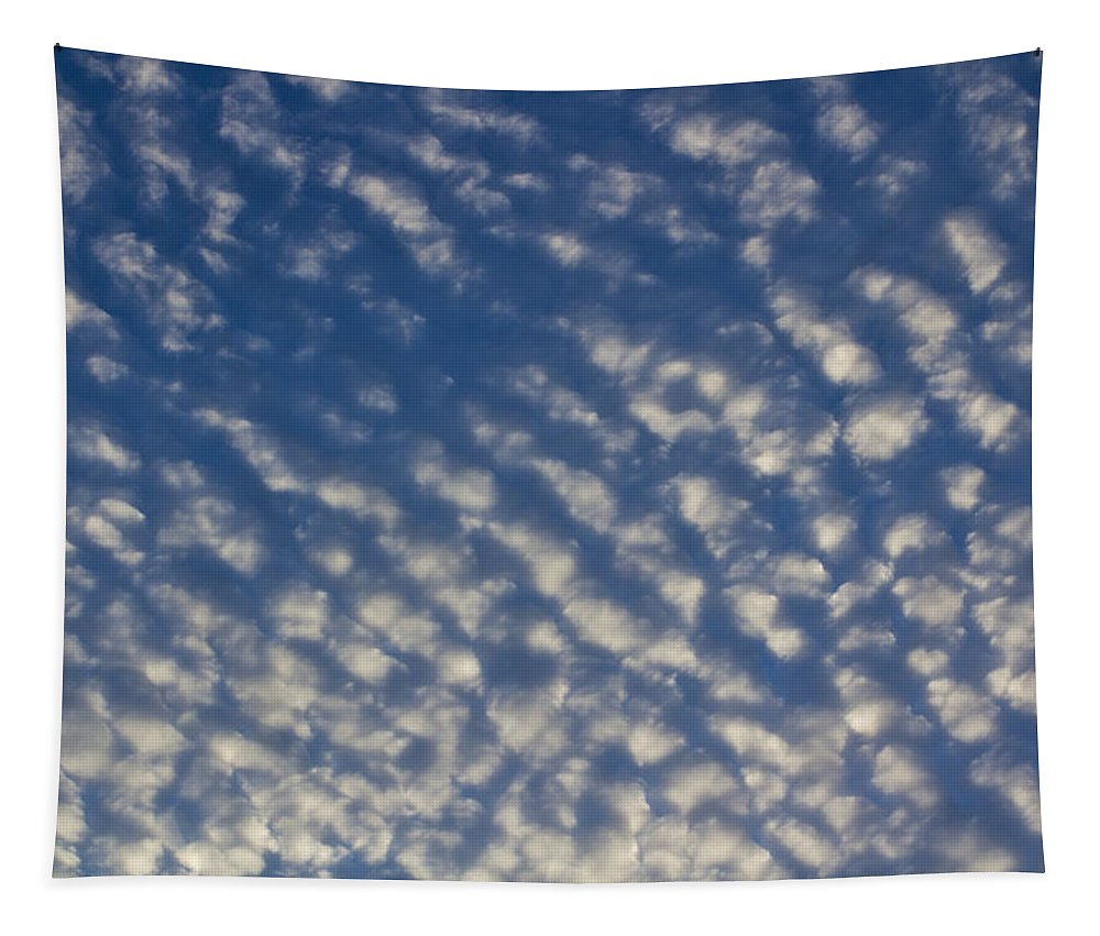 Sky Tapestry featuring the photograph English Sky by David Pyatt