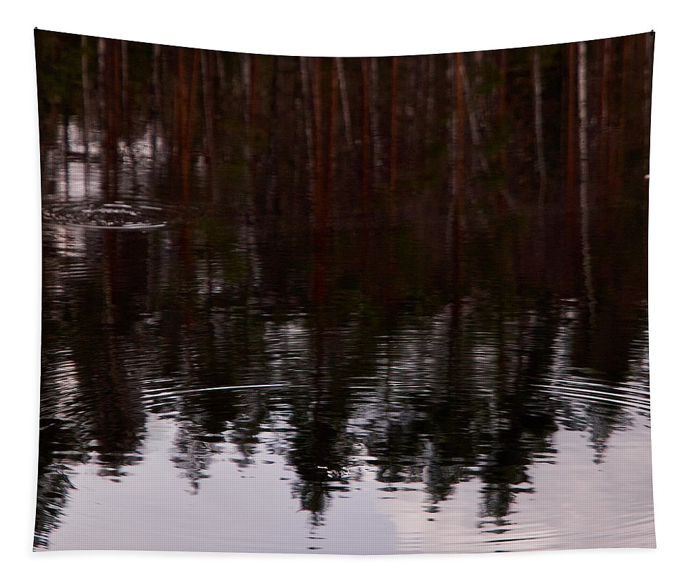 Finland Tapestry featuring the photograph European Common Brown Frog by Jouko Lehto