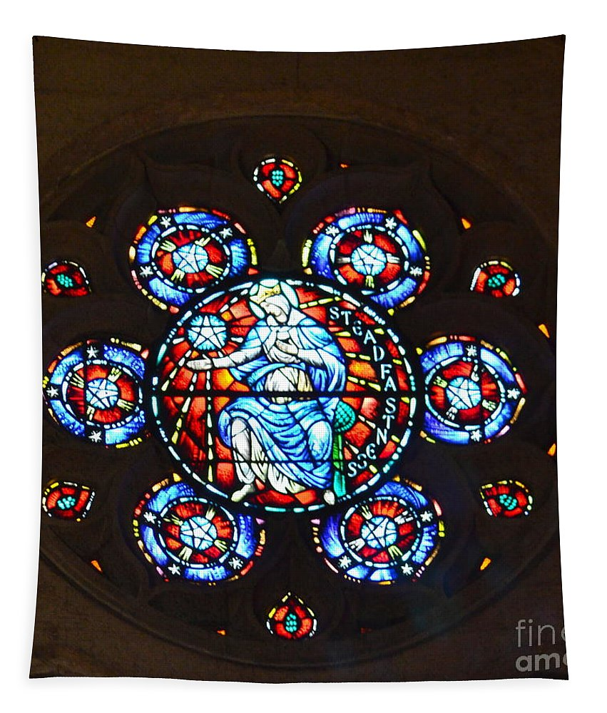 Grace Cathedral Tapestry featuring the photograph Grace Cathedral by Dean Ferreira